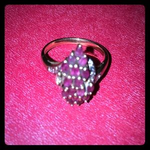 10K Yellow Gold Ruby Ring | Size 8 | $485